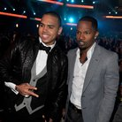 Chris Brown and Jamie Foxx