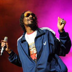 Snoop Dog on stage