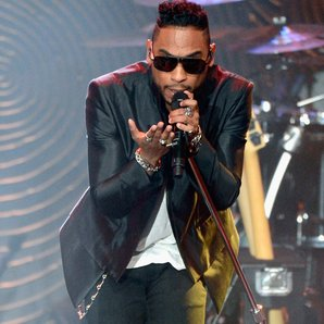 Miguel performs live on stage at The 55th Annual G
