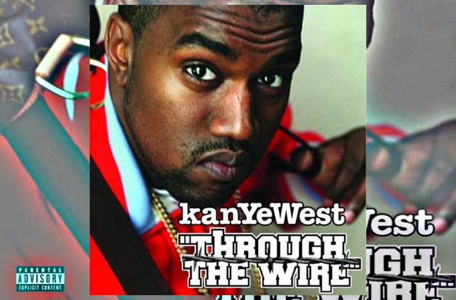 Kanye West 'Through The Wire' artwork