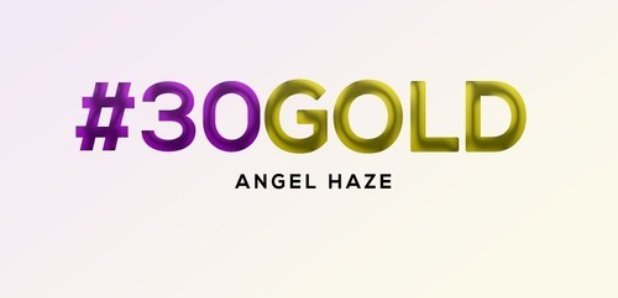 Angel Haze 30 Gold artwork