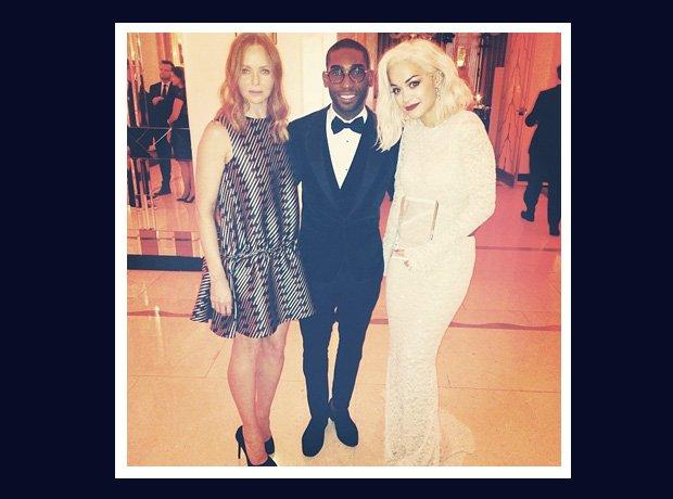 Tinie Tempah and Rita Ora with Stella McCartney