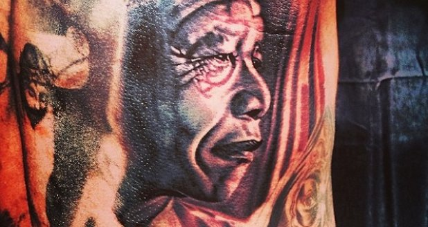 The Game's Nelson mandela Tattoo