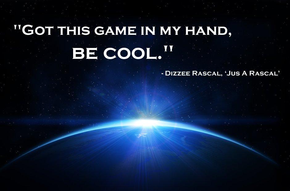 Dizzee Rascal inspirational rap lyrics