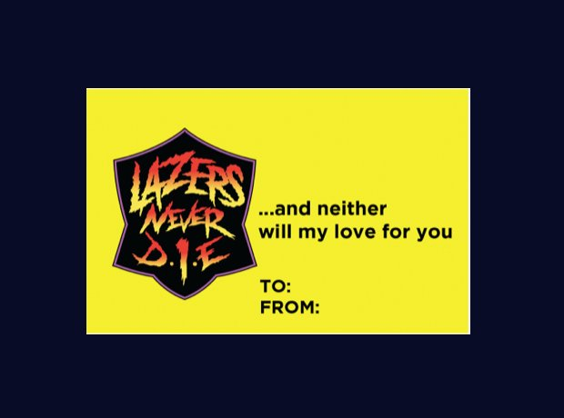 Major Lazer Valentines Cards