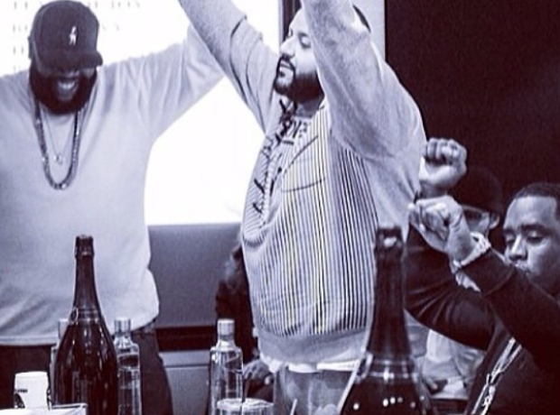Rick Ross P Diddy DJ Khaled