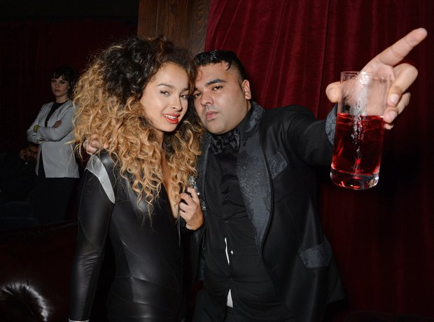 Ella Eyre and Naughty Boy BRIT Awards 2014