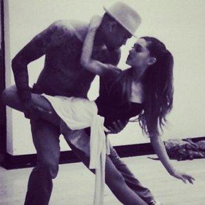 Chris Brown Ariana Grande Instagram