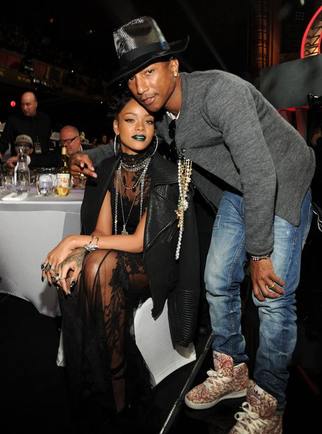 Rihanna and Pharrell Williams