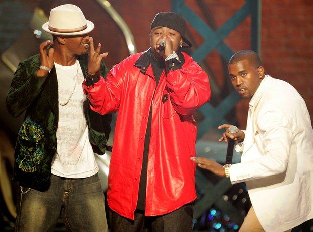 Kanye West Jamie Foxx Twista