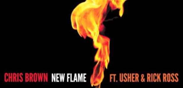 Chris Brown Usher Rick Ross New Flame