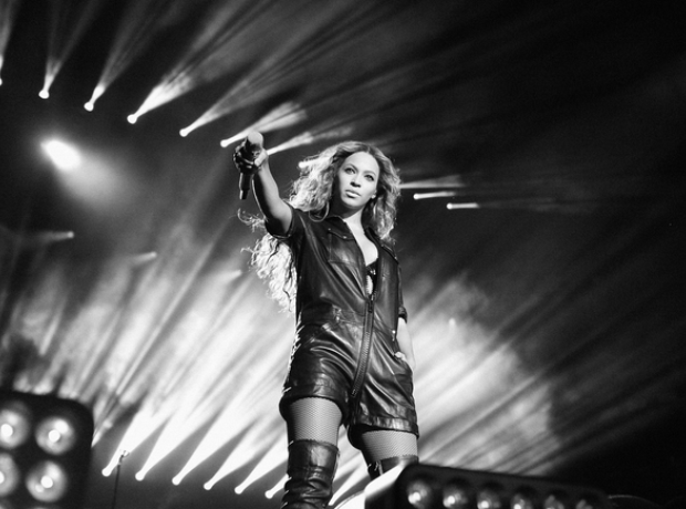 Beyonce on the run tour