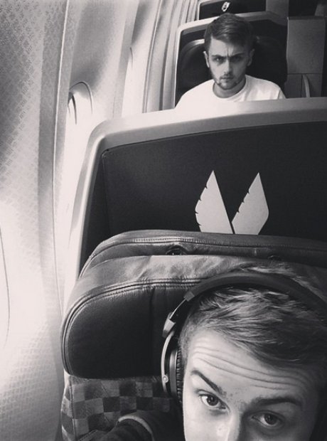 Disclosure airplane selfie