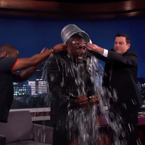 Idris Elba ice bucket challenge