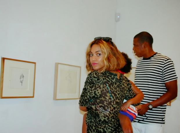Beyoncé Jay Z Blue Ivy art gallery