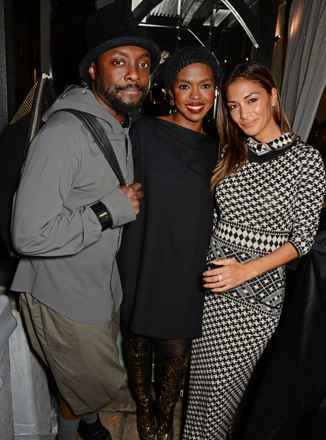 Nicole Scherzinger, Will.i.am and Lauren Hill