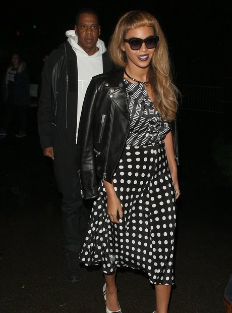 Beyonce and Jay Z Co-Ordinated Outfits