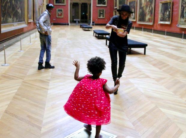 Beyonce Jay Z The Louvre Paris
