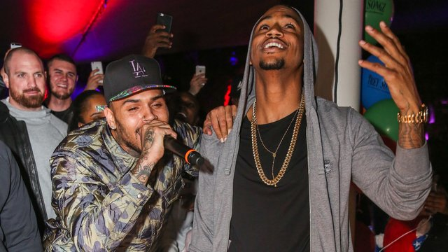 Watch Chris Brown Sing Happy Birthday To Trey Songz At His