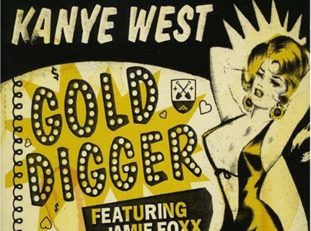Kanye West - 'Gold Digger' artwork