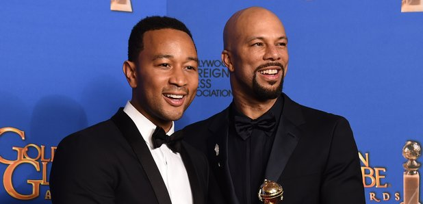 John Legend and Common - Golden Globes 2015