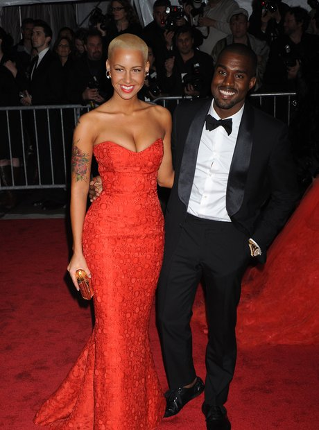 Amber Rose and Kanye West 2009