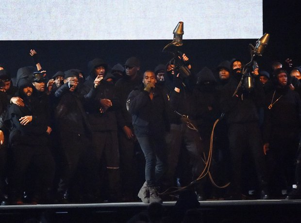 Kanye West BRIT Awards 2015 Performance