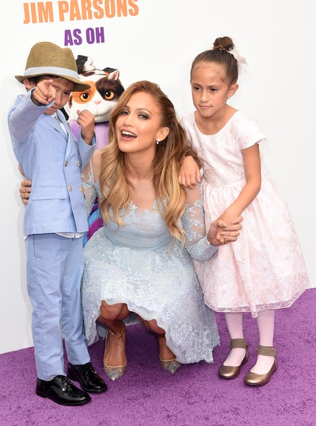 Jennifer Lopez and Children