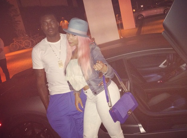 Nicki Minaj Meek Mill Instagram