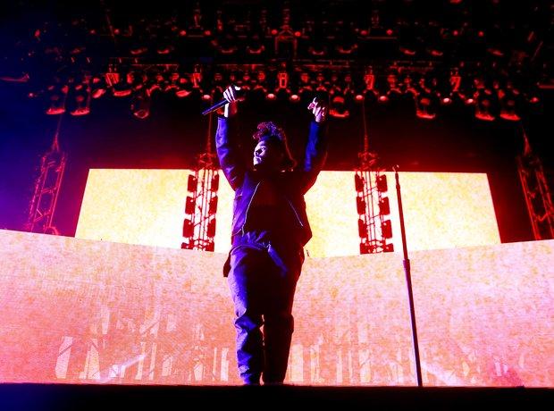 The Weeknd Coachella 2015