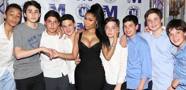 Nicki Minaj at Bar Mitzvah