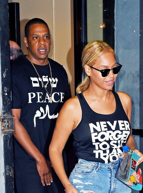 Beyonce and Jay Z Slogan T Shirts