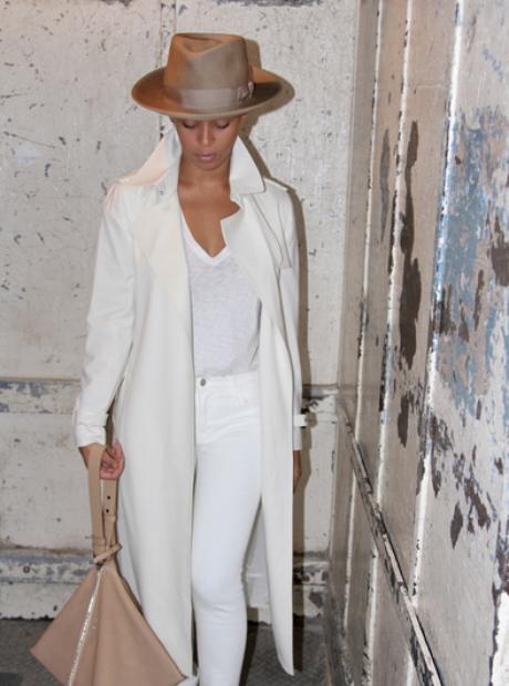 Beyonce fedora hat