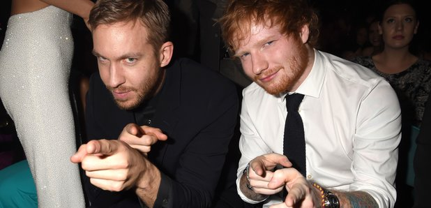 Calvin Harris and Ed Sheeran Billboard Music Award