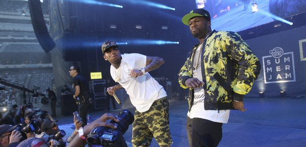Chris Brown 50 Cent Summer Jam 2015