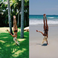 Image 7: Pia Mia doing a Handstand Holiday