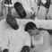 Image 5: Kanye West and Kris Jenner asleep