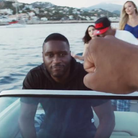 Lethal Bizzle on speedboat