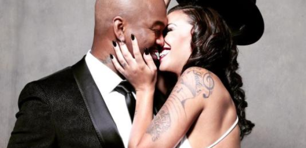Ne-Yo Crystal Renay kissing