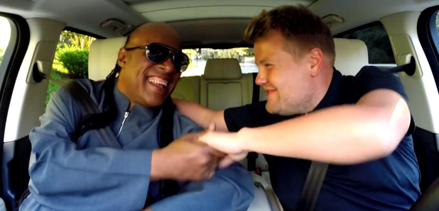 Stevie Wonder James Corden