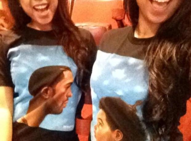 Drake matching t-shirts