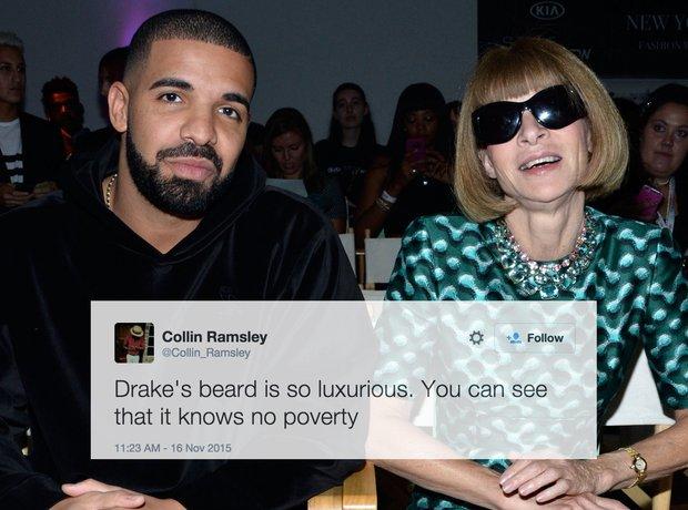 Drake's Beard Tweets