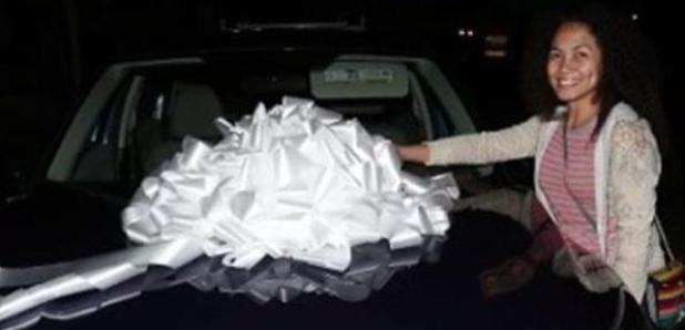 Chris Brown Domestic Abuse Car