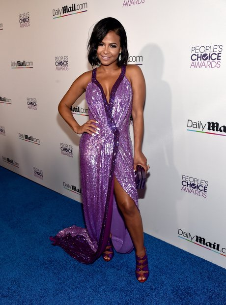 Christina Milian Peoples Choice Awards 2016