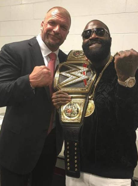 Rick Ross WWE