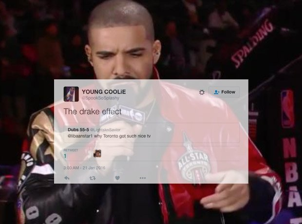 Drake with microphone