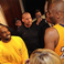 Image 2: Kobe Bryant stood with Kanye West