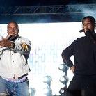 Kanye West and A$AP Rocky Coachella 2016