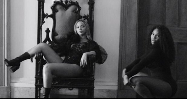 Beyonce and Serena Williams