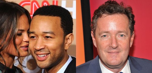 John Legend Chrissy Tiegen Piers Morgan